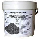 Lordsworld - Loppa - 5 Chilogrammi 0,1-0,4 Polen Sabbia Abrasiva Per Sabbiatura - Sabbia Abrasiva Per Sverniciatura - Scorie Di Rame - 5 Chilogrammi-Polen-01-04