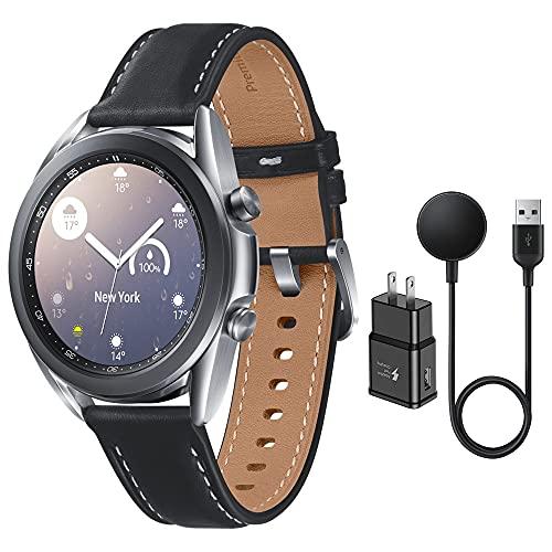 Samsung Galaxy Watch 3 Stainless Steel (41mm) SpO2 Oxygen, Sleep, GPS...