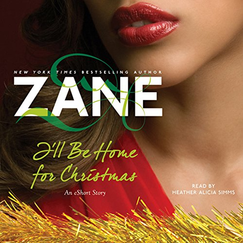 Zane's I'll Be Home for Christmas audiobook cover art