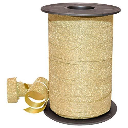 C.E. Pattberg GmbH Prasent 100 m 10 mm polyglitter polypropyleen band, goud