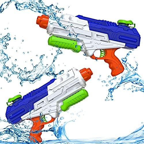 Squirt Guns Water Gun for Kids 1200CC Water Guns Water Shooter for Adults Outdoor Water Playing Toys Boys Girls Children