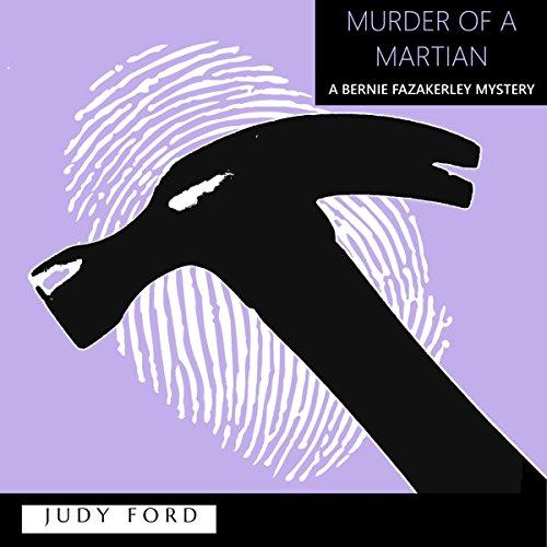 Murder of a Martian audiobook cover art