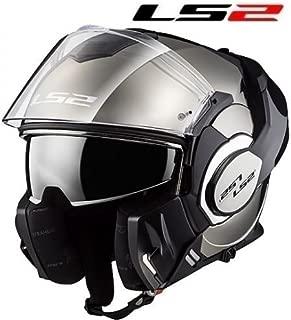 LS2/Casco de Moto Valiant Line Mat Hi VI Negro//Amarillo Tama/ño L