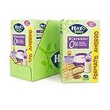 Hero Baby - Papilla de 8 Cereales sin Azúcares Añadidos, para Bebés a Partir de los 6 Meses - Pack de 3 x 820 g
