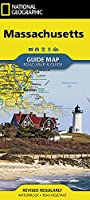 National Geographic Massachusetts Guide Map: Road Map & Guide (National Geographic Guide Map)