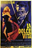 American Gift Services - La Dolce Vita Vintage Federico Fellini Movie Poster