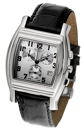 Pilo & Co Herren-Armbanduhr, Schweizer Quarz, Chronograph, Kollektion P0119CHQS