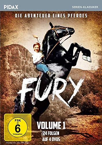 Fury - Die Abenteuer eines Pferdes, Vol. 1 / Die ersten 24 Folgen der Kultserie (Pidax Serien-Klassiker) [4 DVDs]