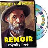 Renoir, más de 200 de alta resolución de imágenes digitales, libres de derechos de DVD Biblioteca