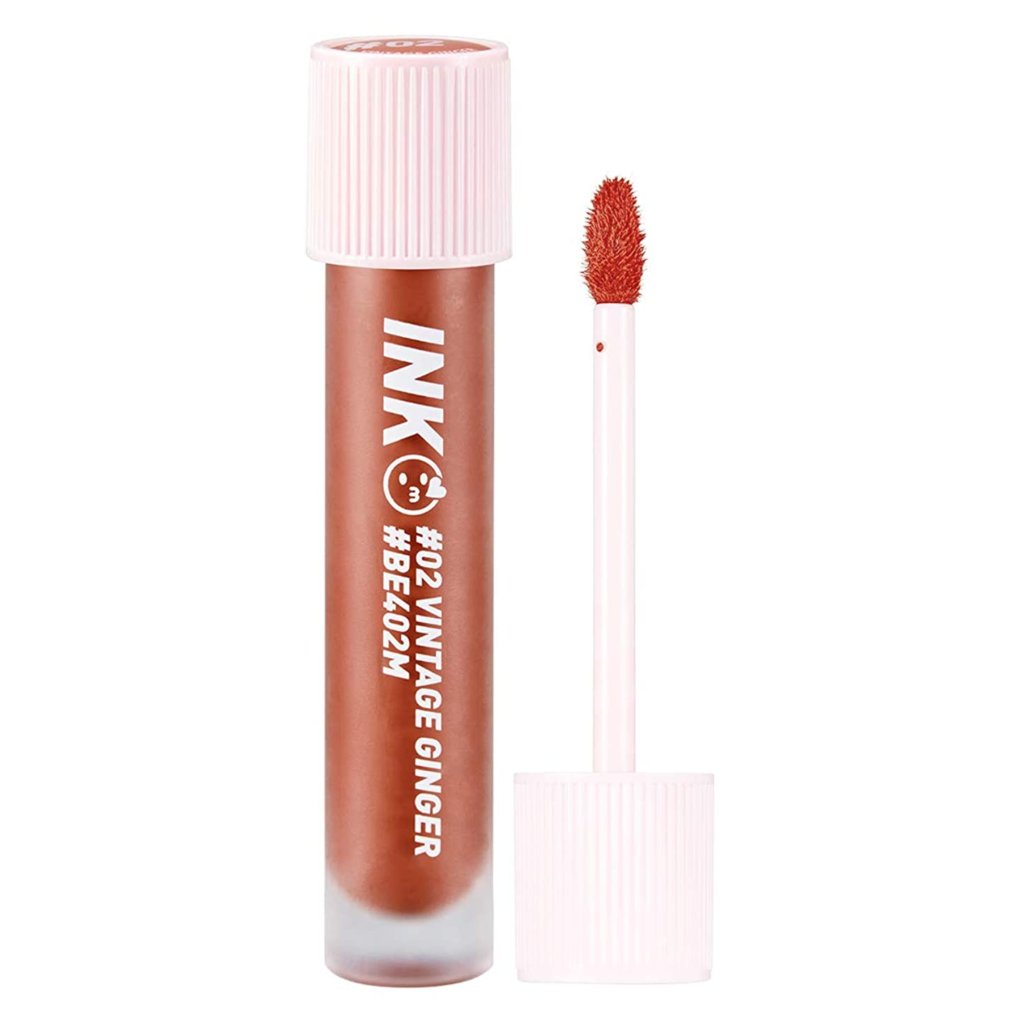 Peripera Ink Matte Blur Tint 0.13 Ounce 002 Vintage Ginger