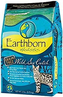 Earthborn Wild Sea Catch Grain Free Dry Cat Food - 14 Pounds