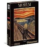 Clementoni- L'Urlo di Munch Museum Collection Puzzle, 1000 Pezzi, 39377