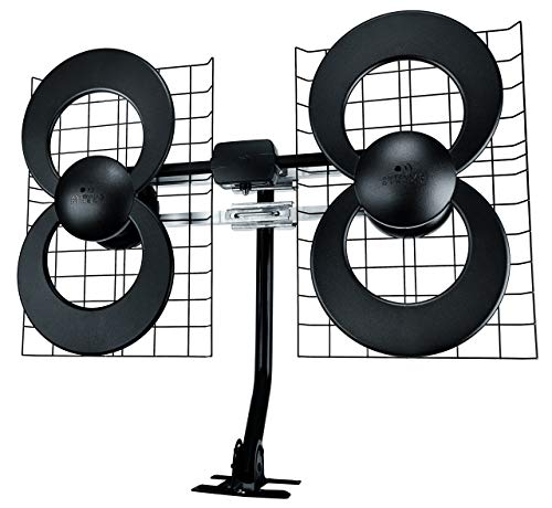 ClearStream 4 Indoor/Outdoor HDTV Antenna with Mount - 70 Mile Range (Certified Refurbished). Buy it now for 69.34