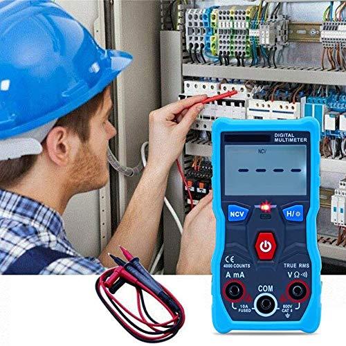 Multímetro digital Voltímetro de CA CC Probador de control de aplicación inalámbrica Bluetooth [-75{a0a633dc170cb9375b6c1c0c4c4b898fa391c549da8ecb44b88988c9ca1c4db2}], Voltaje de probador múltiple para resistencia de corriente de voltaje