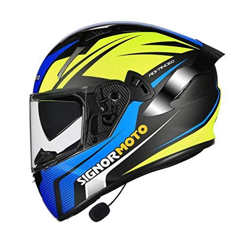 Casco Motocicleta Flip Up Bluetooth Cascos todoterreno Downhill Racing Mountain Casco integral Motocicleta Cross Casco Casque Capacete