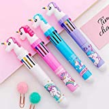VIHAAN Cute Unicorn Pen/Ballpoint Color Pen for Kids- Birthday Party Return Gift (Size: 14 cm)...