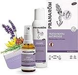 Pranarôm - Aromapar+ - Tratamiento Antipiojos - Spray Antipiojos Bio + Champú + Lendrera - 30 + 125 ml