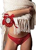 ADMAS - Braga Navidad Mujer Color: Rojo Talla: Large