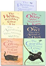 Jill Tomlinson 7 Books Collection Set (The Penguin Who Wanted to Find Out, The Hen Who Wouldn't Give Up, The Otter Who Wanted to Know, The Gorilla Who Wanted to Grow Up, The Cat Who Wanted to Go Home,