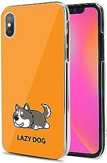 Huawei P40 Pro 5G ケース カバー スマホケース ハード TPU 素材 おしゃれ かわいい 耐衝撃 花柄 人気 全機種対応 怠惰な犬01 かわいい アニマル アニメ 9796365
