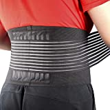 Cotill Back Brace Lumbar Lower Belt Brace and 8 Stable Splints Support...