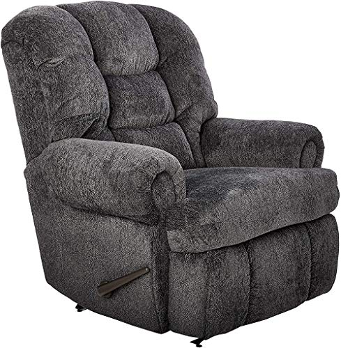 Lane Stallion Big Man(Extra Large) Comfort King Wallsaver Recliner in Blue Depths(Grey Blue). Made for The Big Guy Or Gal. Rated for Up to 500 Lbs. Extended Length. 79
