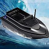 Gpzj Barco de Cebo de Pesca Profesional 500 M Control Remoto Buscador de Peces Crucero automático Carga de 1,5 kg Barco de Velocidad de Pesca en el mar al Aire Libre, 5200 mAh Control Conveniente