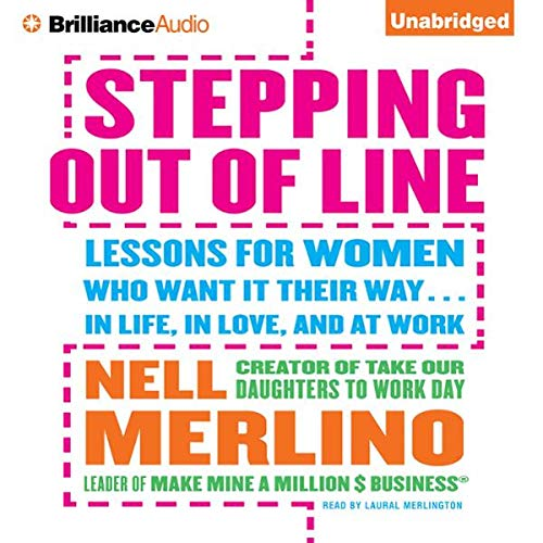 Stepping Out of Line audiobook cover art