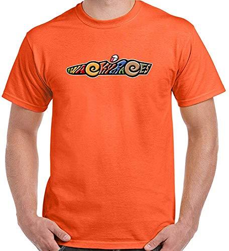 Men's Wacky Races Orange T-shirt, M to 3XL