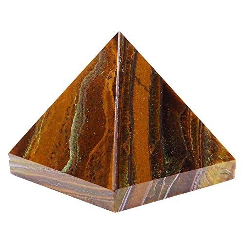 Harmonize Crystal Healing Generador De Piedra Ojo De Tigre Pirámide D