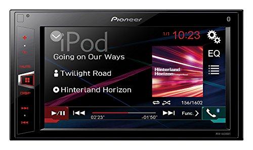 Pioneer MVH-AV280BT - Pantalla táctil doble de 6.2' (Bluetooth, USB, BT...