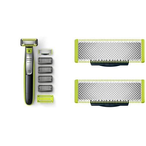 Philips Norelco OneBlade Face + Body hybrid electric ...