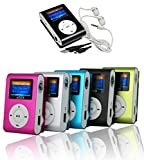 takestop Mini Lettore MP3 YF Player Clip USB con Display LCD Screen Supporta 32GB...