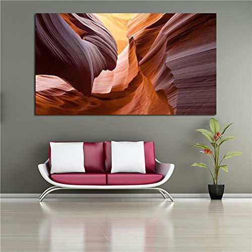 yaoxingfu Kein Rahmen Abstrakte ng Felsen Wandkunst Bilder Für Wohnzimmer Leinwanddruck Poster Dekoration Kein Rahmen 60x90 cm
