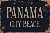Kia Haop Panama City Beach Metall Fender Blechschild Plaque