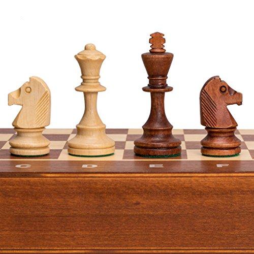 CAGO Schach Turnier-Schachspiel Staunton No 4