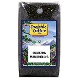 The Organic Coffee Co. Sumatra Mandheling Whole Bean Coffee 2LB (32 Ounce) Medium Light Roast USDA Organic