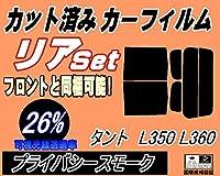 A.P.O(エーピーオー) リア (b) タント L350 L360 (26%) カット済み カーフィルム L350S L360S タントカスタムも適合 ダイハツ