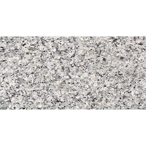 PrintYourHome Fliesenaufkleber für Küche und Bad   Dekor Granit Grau   Fliesenfolie für 10x20cm Fliesen   42 Stück   Klebefliesen günstig in 1A Qualität