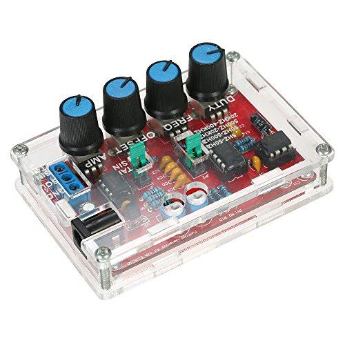 KKmoon Signalgenerator DIY Kit Hohe Präzision Sinus / Dreieck / Platz / Sägezahn Ausgang 5Hz ~ 400kHz Einstellbare Frequenzamplitude