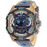 Invicta 33857 Corduba reloj multifunción de cuarzo con esfera azul para hombre