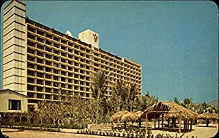 The Luxurious Hotel Acapulco Hilton Acapulco, Mexico Original Vintage Postcard