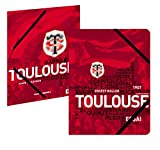 Chemise A4 scolaire Toulouse - Collection officielle Stade Toulousain