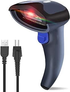 Leader-cloth Aibecy Handheld 1D USB Barcode Scanner Lector de c/ódigos de barras Decodificador de 32 bits Compatible con Linux Android MacOS Windows