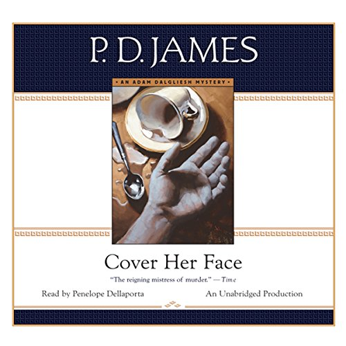 Cover Her Face audiobook cover art