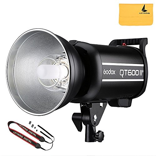 Godox QT600II QT-600IIM 600W 2.4G High Speed 1/8000s 110V Studio Strobe Flash Light (QT-600IIM)