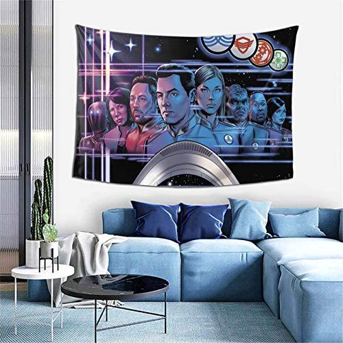 The Orville - Tapiz para colgar en la pared, suave, decoración del hogar, para sala de estar, dormitorio, 156 x 100 cm
