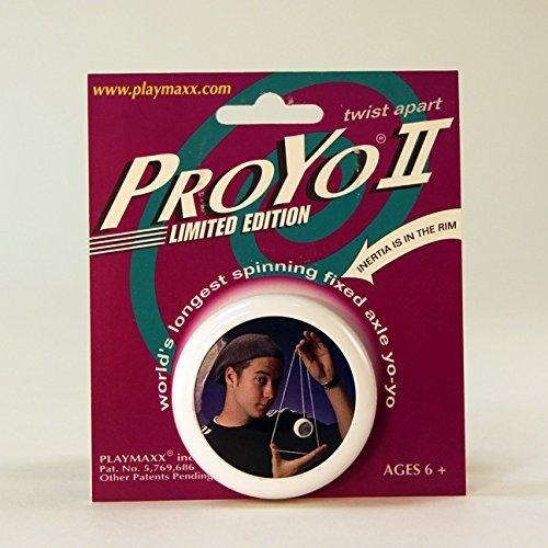ProYo II Limited Edition Yo-Yo - Collectible with Yo Hans - Black/White