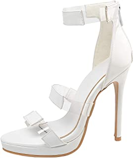 AicciAizzi Women Fashion Sandals Thin High Heel