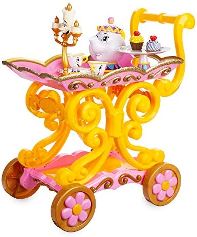 Disney Beauty and The Beast Be Our Guest Singing Tea Cart Play Set product image